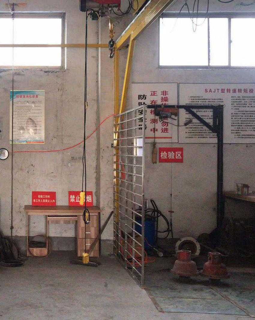 施工升降机用防坠安全器检测